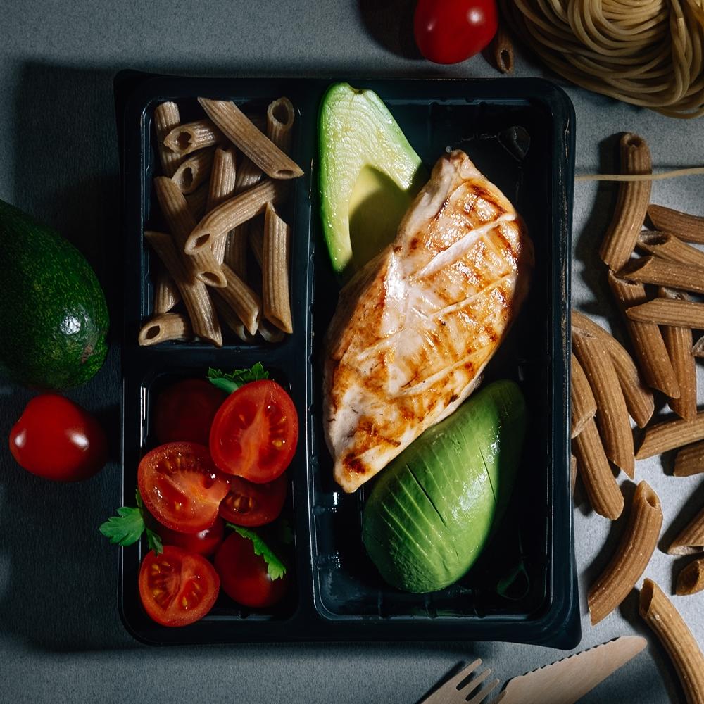 Пилешко филе Су Вид с прясна паста и авокадо